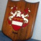 Reese Coat Of Arms Plaque Heraldry