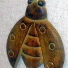 Ladybug themed wall hanger iron