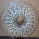Large Lead Crystal Platter Tray