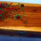 Mothers Day themed Small Cedar Chest