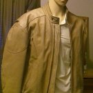 Tan Motorcycle Jacket Vented With Liner