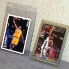 Two Kobe Bryant Rookie Cards