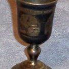 Romanov Era Liquor Cup Goblet 1875 87.5% Silver