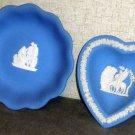Two Wedgwood trinket trays Jasperware