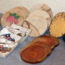 Six Sets of Coasters Stone Rose Artisan