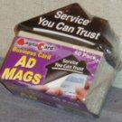 Magnet Back Business Card Holders