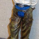 Cowgirl Figurine Chaps Western
