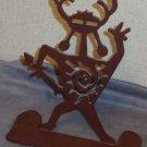 Ironcraft native figurine metal dancer