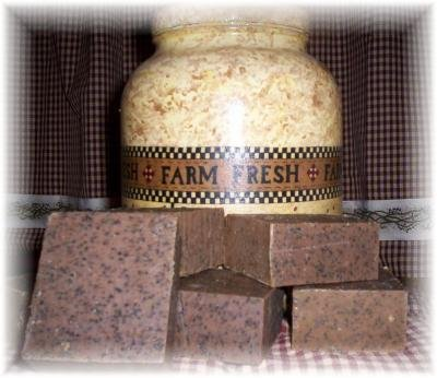 Coffee Kitchen Soap For Tough Kitchen Smells & Outdoor Work Hands~5 Bars