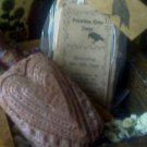 PRIMITIVE HEART DESIGN GOAT MILK SOAP ~VANILLA BEAN