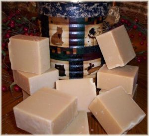 VINTAGE ROSE GARDEN PRIMITIVE RECIPE GOAT MILK SOAP ~5~