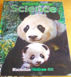 2007 1st Grade Science California Macmillan/McGraw Hill Student Textbook