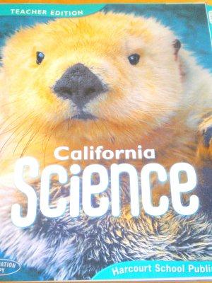 2007 California Science Harcourt 1st Grade Teachers Edition