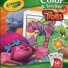 Crayola Color & Sticker, Dreamworks Trolls