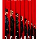 """OCEAN'S 8 - ORIGINAL TEASER 2018 MOVIE POSTER 27X40"""" - New - Free Shipping"""