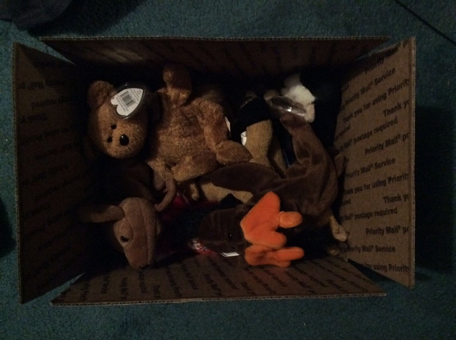 Box of Benie Babies - All With Tags - All New!! - FREE Shipping!!