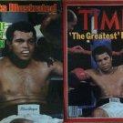 2 Muhammad Ali original magazines - FREE Shipping - Read Description