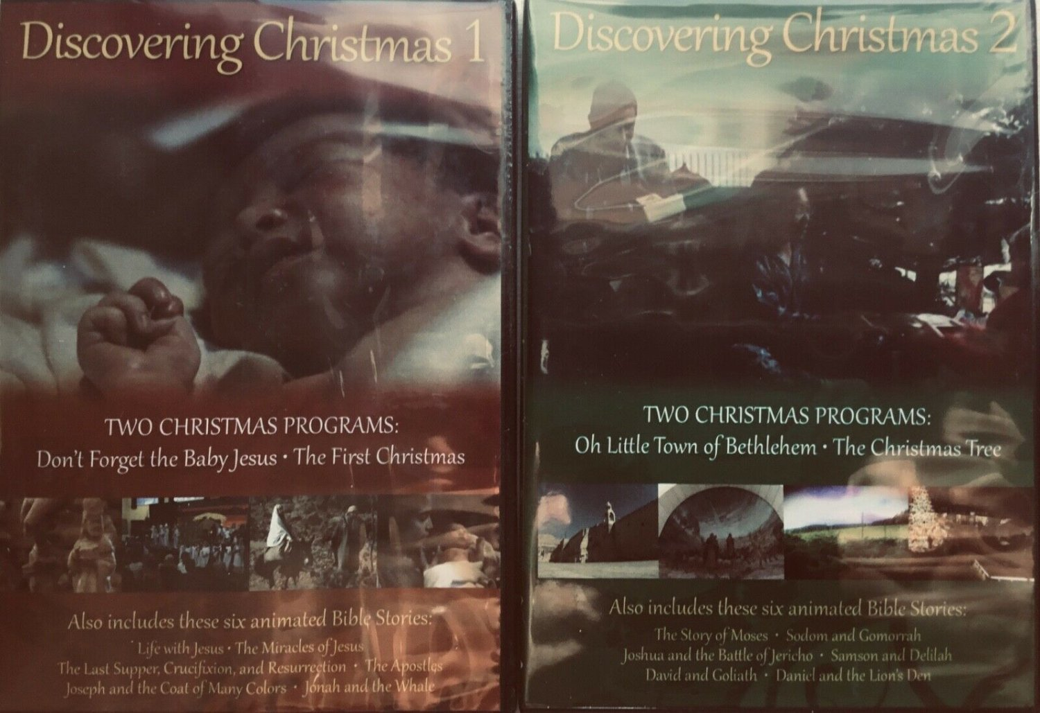 Discovering Christmas 1 & 2 - Dvd - New! Free Shipping