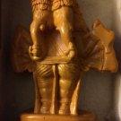 Panchamukha Ganapati Statue (Resin) - NEW - FREE Shipping! Gold Color