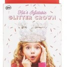 Kids Inflatable Glitter Crown, Birthdays, Parties, Dress Up Or Pretend Play