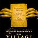 The Village - Blu Ray - Rare!