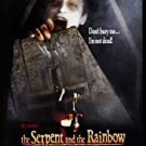 The Serpent And The Rainbow - DVD
