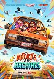 Mitchell�s Vs The Machines - Blu Ray