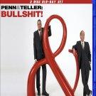 Penn And Teller : Bullsh*t - Blur Ray Three Disc Set