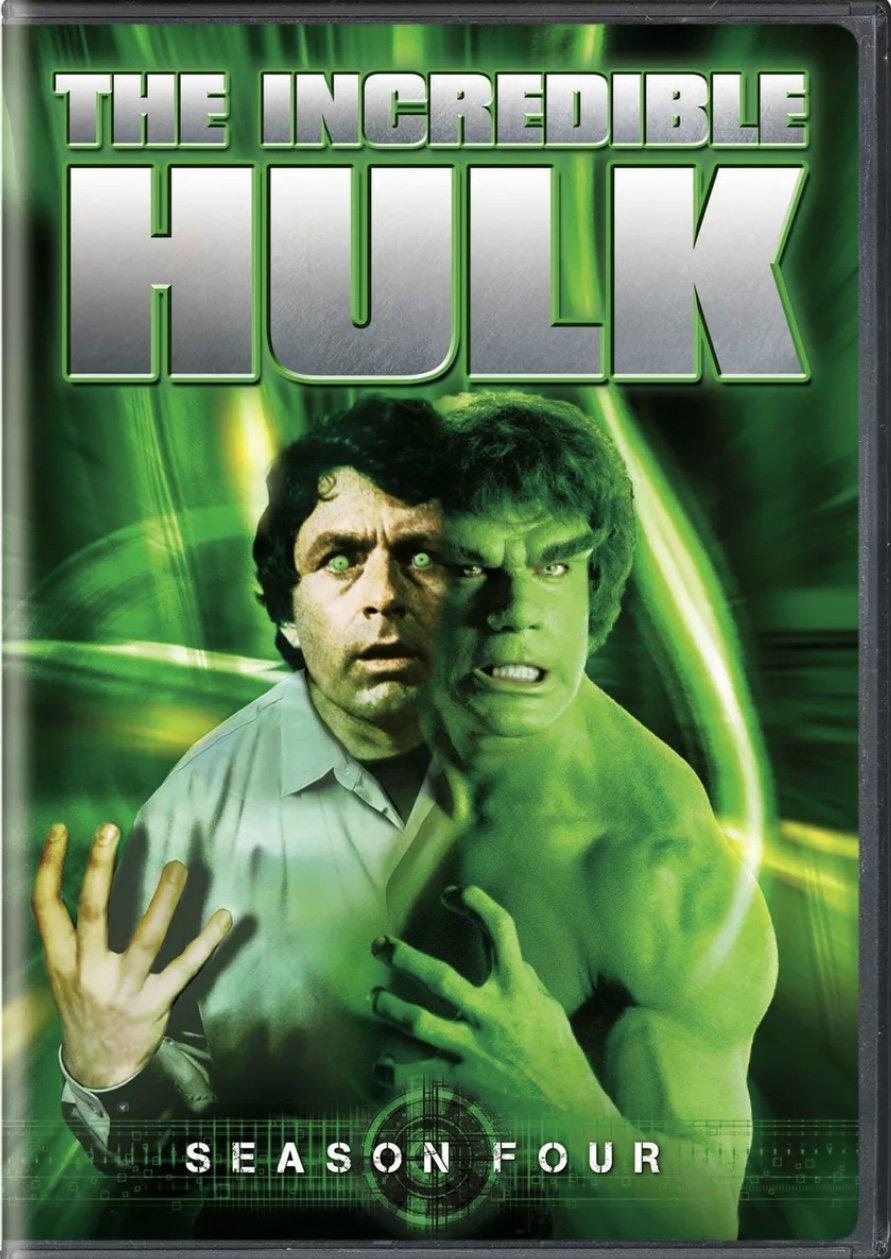 The Incredible Hulk - Season 4 - Blu Ray