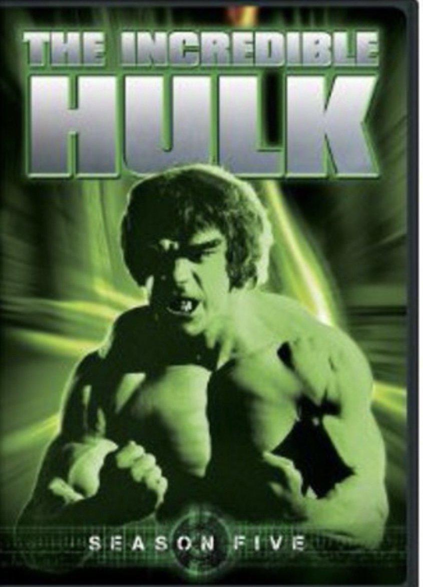 The Incredible Hulk - Season 5 - Blu Ray