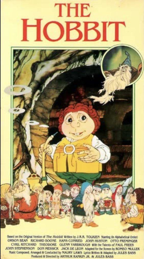 The Hobbit - 1977 Animated - Rare Blu Ray