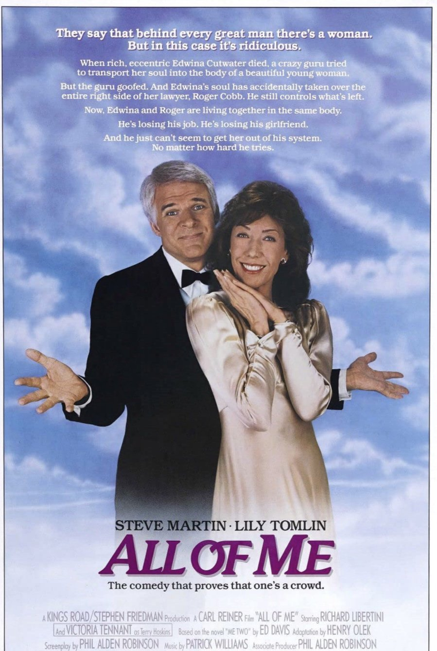 All Of Me - 1984 - Rare Blu Ray