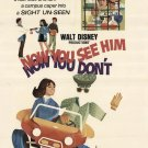 Now You À see Him, Now You Don't - 1972 Disney - Blu Ray