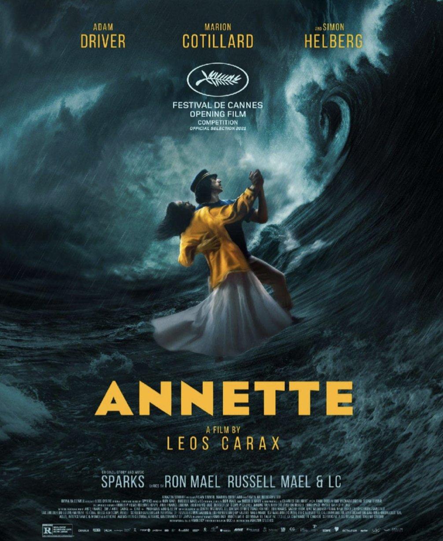 Annette - 2021 - Blu Ray - Adam Driver