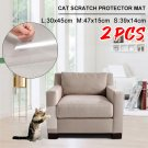 2Pcs Cat Scratch Furniture Protector Mat/Sofa Protector - Protect your sofa!