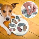 Dog Bowl Pet Training Puzzle Feeder Bowl for Dogs Cats Pet Interactive Toy