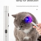 Cat Moss light pet fungus detection Stainless Steel USB Charging Cats