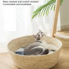 New Simple Japanese Style Woven Cat Nest Bed High Quality Rattan (Natural)