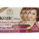 6 X Kojic White Gluta Collagen Super AHA Soap