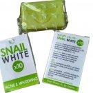 4 X Snail White x10 Acne & Whitening Soap