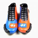 Men RACING SHOES Leather Fashion Running Shoes Sport Light Weight US Size 8