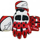 Motorcycle GATOR Gloves Genuine Leather Motorbike Driving Racing Biker Protective Gear Size XL