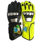 Motorcycle DOCR 46 Gloves Genuine Leather Motorbike Driving Racing Biker Protective Gear Size L