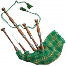 Scottish Great Highland Rosewood Bagpipe Irish Tartan
