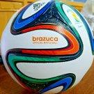 Adidas Brazuca Soccer Match Ball Replica Size 5 - 2014 FIFA World Cup Foot Ball