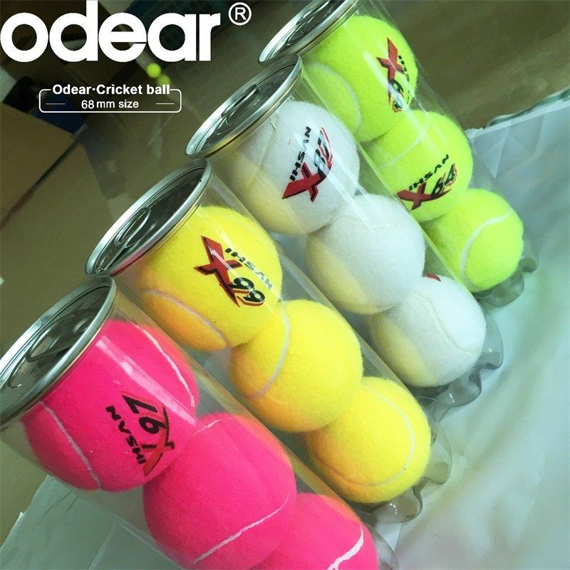 IHSAN SHIELD designated ball X87 Cricket Ball tennis ball Soft ball Assorted colors Pack Of 12