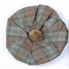 Scottish Tam O' Shanter Hat Clan Tartan/Tammy HAT Kilt Cap One Size Black Watch Weathered