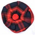 Scottish Tam O' Shanter Hat Clan Tartan/Tammy HAT Kilt Cap One Size Maclachlan