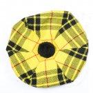 Scottish Tam O' Shanter Hat Clan Tartan/Tammy HAT Kilt Cap One Size  McLeod Of Lewis