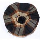 Scottish Tam O' Shanter Hat Clan Tartan/Tammy HAT Kilt Cap One Size  Rose Ancient